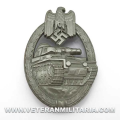 Panzer Assault Badge Silver