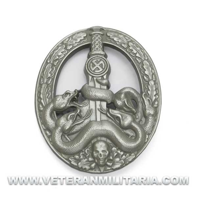 Antipartisan Badge Silver
