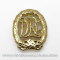 DRL Sports Badge in Gold