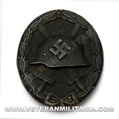 Wound Badge in Black Original (2)