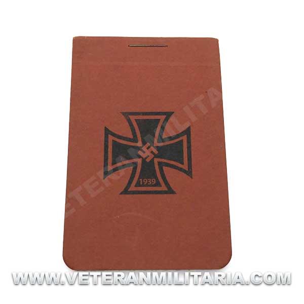 Original German notebook