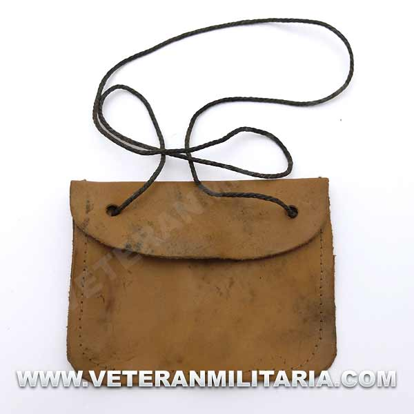 German Dog Tag Carrying Pouch Original