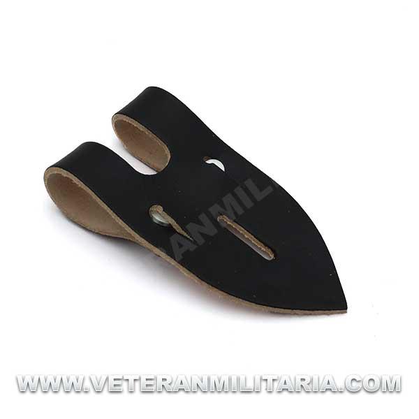 German Leather Binocular Flap