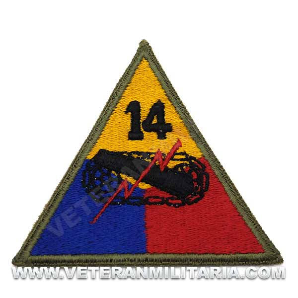 Patch, 14th Armored Division (Liberators) Original
