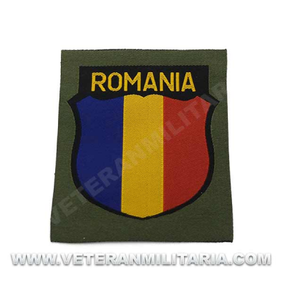 Romania Volunteer Arm Patch