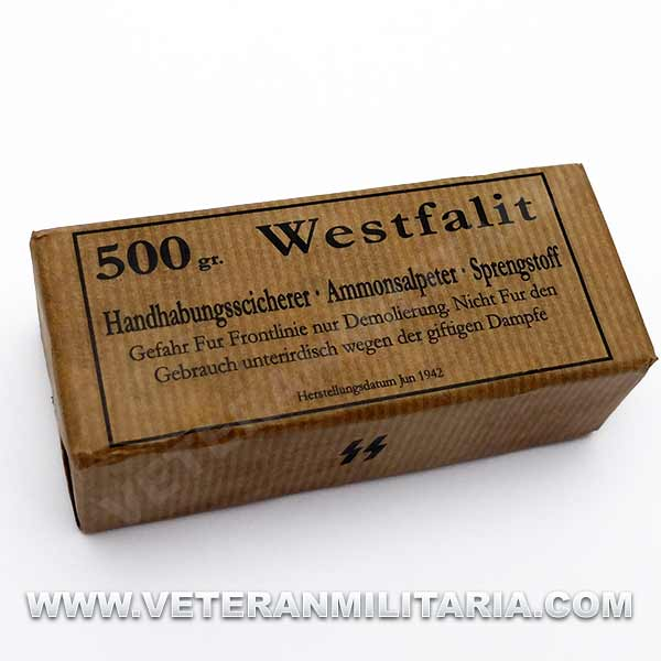 Reproduction of Westfalit 500gr