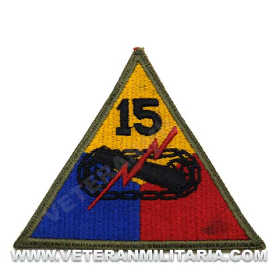 Patch, 15th Armored Division Original