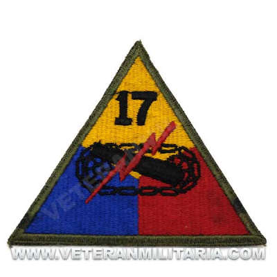 Patch, 17th Armored Division Original