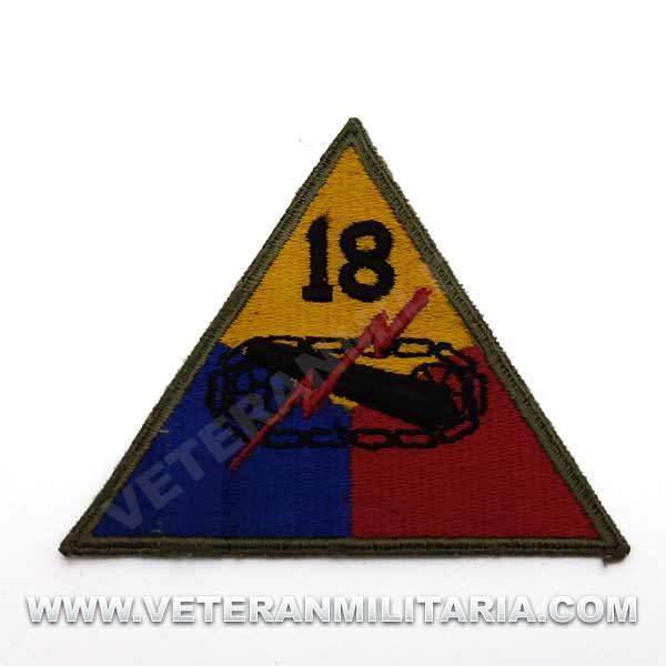 Patch, 18th Armored Division Original