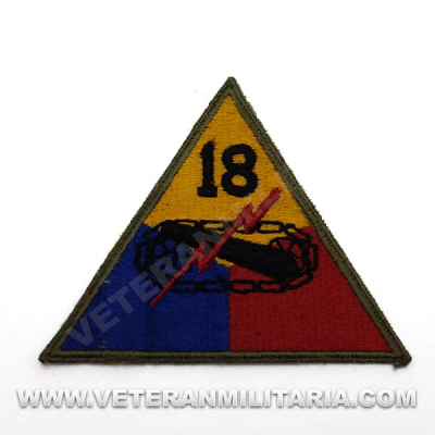 Patch, 18th Armored Division Original