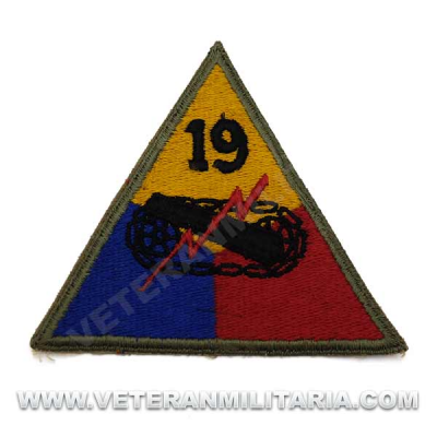 Patch, 19th Armored Division Original