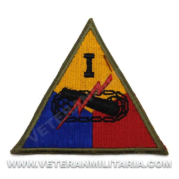 Patch, Ith Armored Division Original