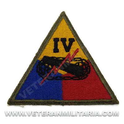Patch, IVth Armored Division Original