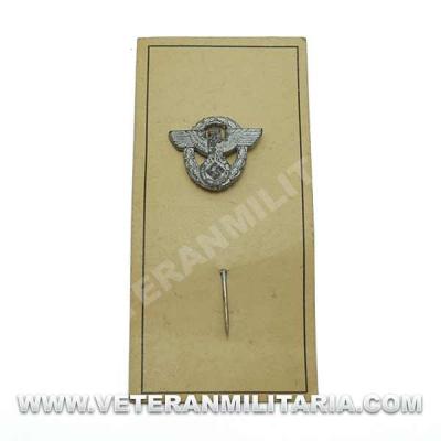 German Police Pin Original
