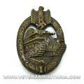 Panzer Assault Badge (Antique Finish)