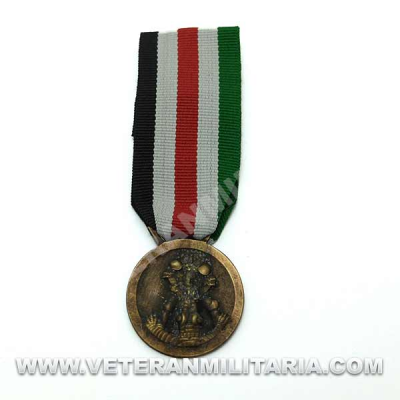 Italo-German Campaign Medal in Africa (Antique Finish)