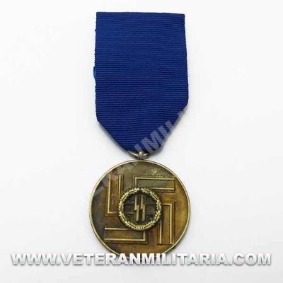 Long Service Award - 8 Years Waffen-SS (Antique Finish)