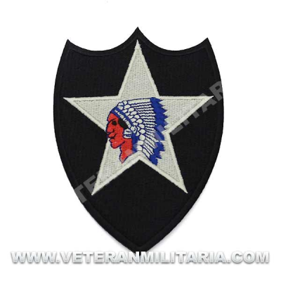 Patch, 2nd Infantry Division (Indianhead)