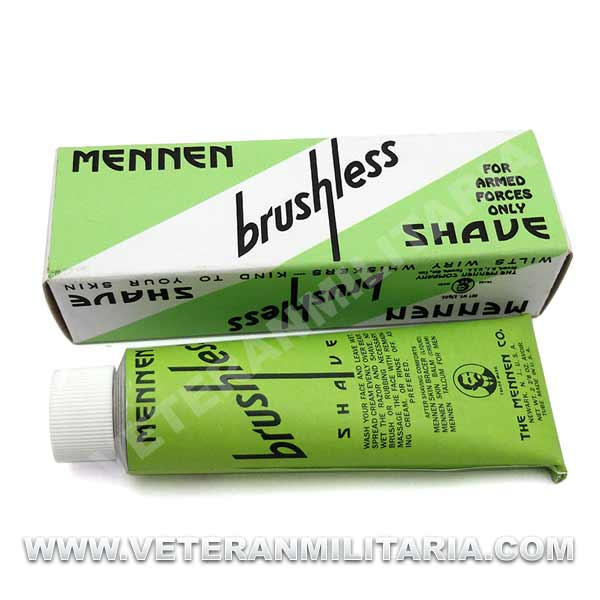 Mennen Brushless Shave Shaving Cream