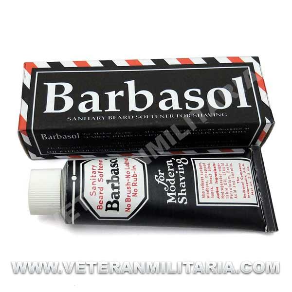 crème à raser US ARMY matériel original barbasol US WW2