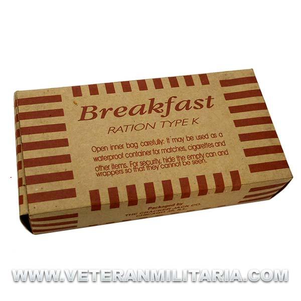 K-Ration Breakfast