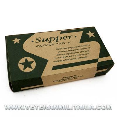 K-Ration Supper
