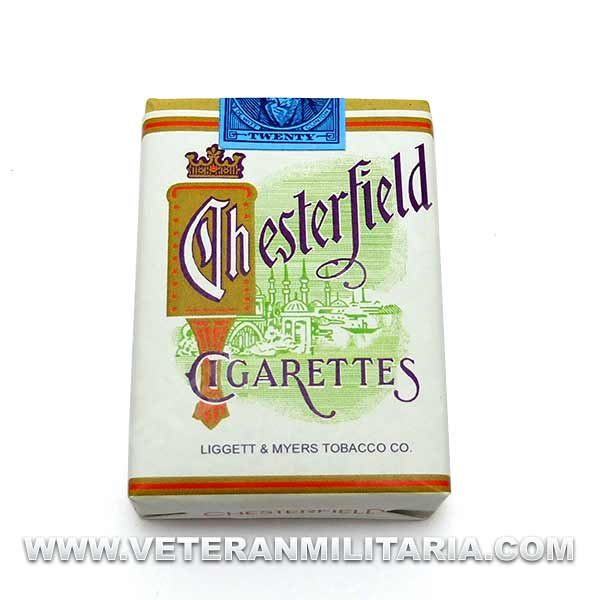 Dummy Cigarette Pack Chesterfield