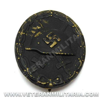 Wound Badge in Black Original