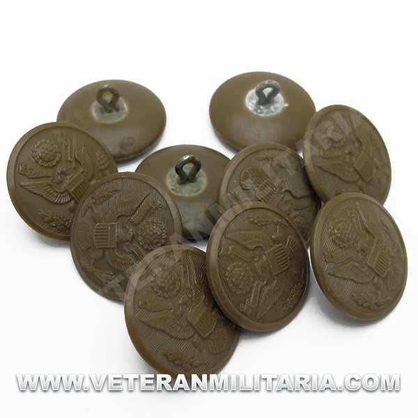 Button of Overcoat US Original