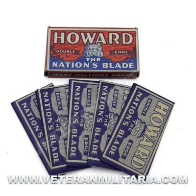 Howard Original Razor Blades