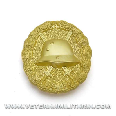 Wound Badge in Gold WWI