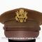 Visor hat, officer's OD