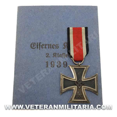 Iron Cross EK2 1939 Nr65 Original