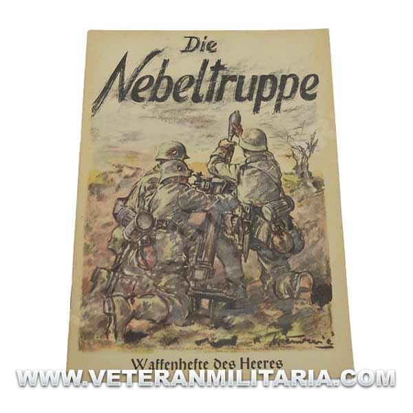 German Book Die Nebeltruppe, Waffenhefte Des Heeres