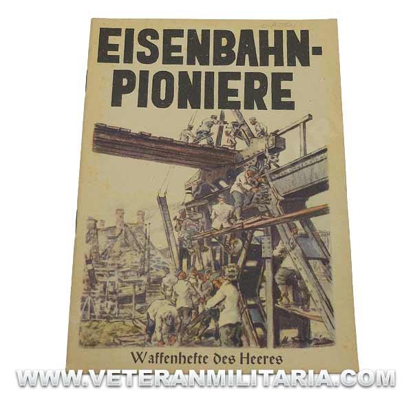 German Book Eisenbahn-Pioniere, Waffenhefte Des Heeres