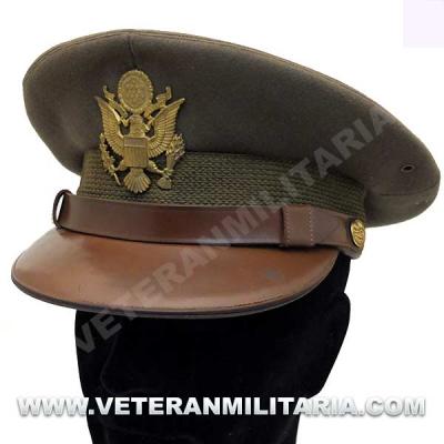 US Army Officer's Visor Hat Original