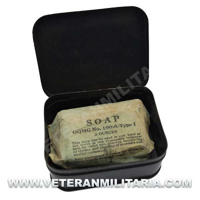 US Army Metal Soap Tin Original