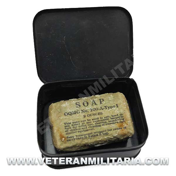 US Army Metal Soap Tin Original (2)