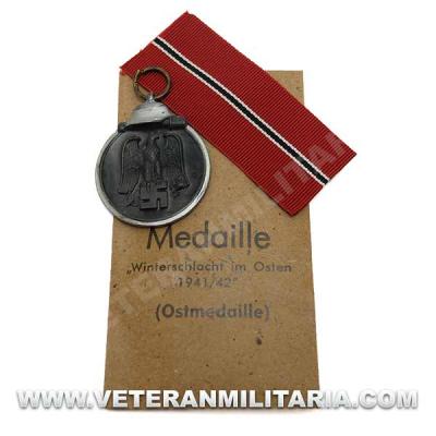 German Eastern Front Medal-Wilhelm Deumer Original