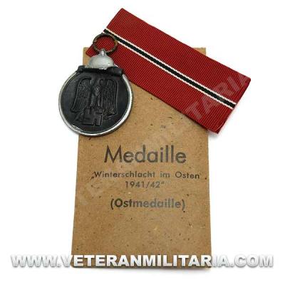 German Eastern Front Medal-Wilhelm Deumer Original (2)