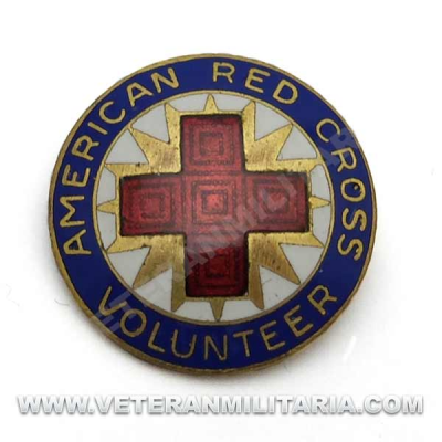 American Red Cross Volunteer Pin, Production Corp