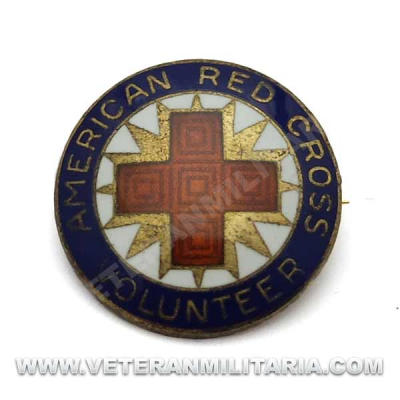 American Red Cross Volunteer Pin, Production Corp (2)