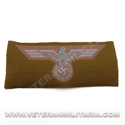 Afrika Korps enlisted mans silk woven breast eagle