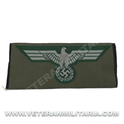 Army enlisted mans silk woven breast eagle 1936