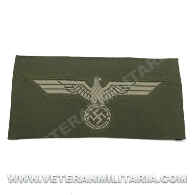 Army enlisted mans silk woven breast eagle 1940