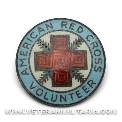 Canteen Corps Volunteer Service Pin Original