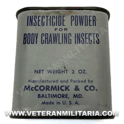 Insecticide Powder US Army Original