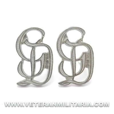 GD Grossdeutschland Shoulder Board Cyphers in Silver