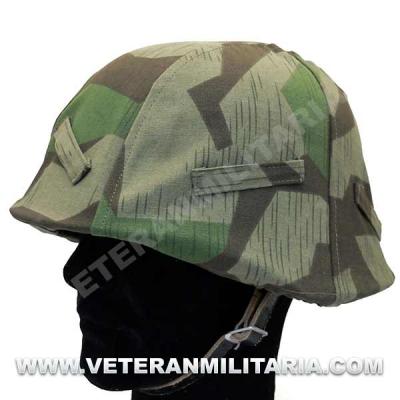 Splinter camouflage helmet cover